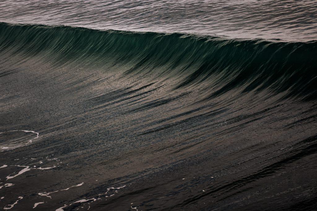 E se a onda da mudança surgir na sua frente?